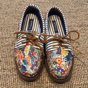 Sperry Liberty Print Boat Shoes